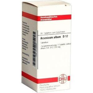 nägelkauen homöopathie - Globuli Arsenicum Album